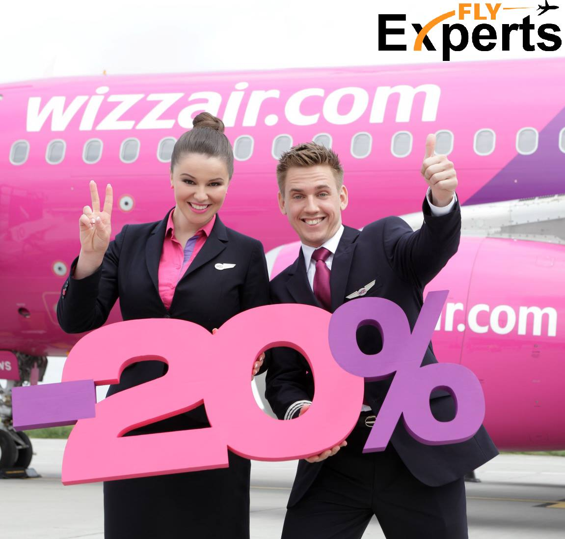 20% popusta na sve Wizz Air karte - samo danas!