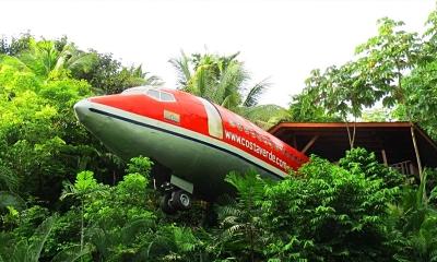 Hotel Costa Verde - smeštaj u avionu
